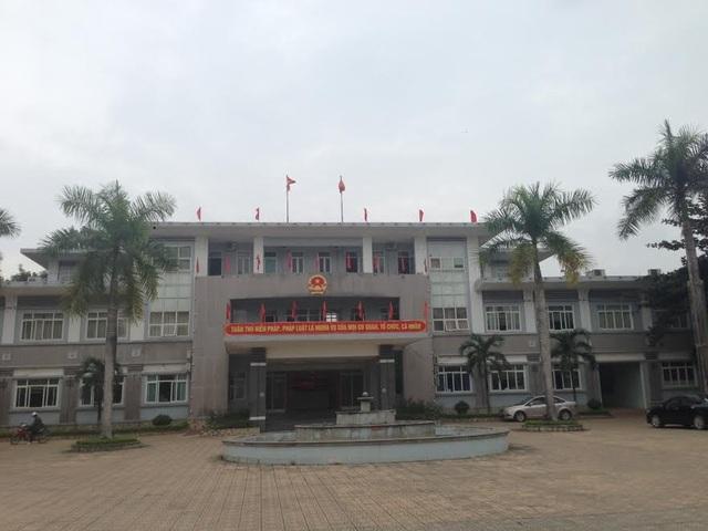 Trụ sở UBND thị xã Bỉm Sơn