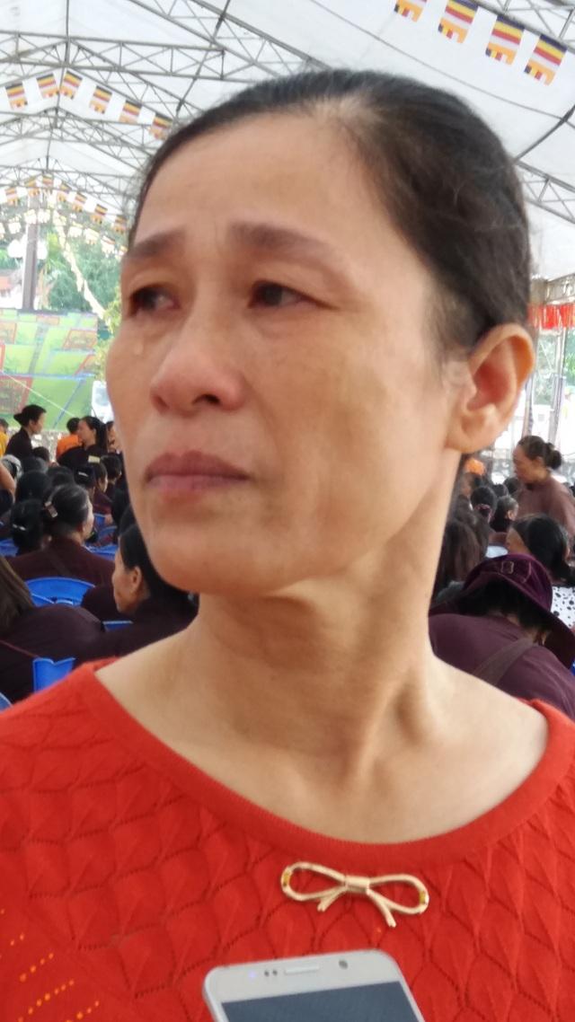 Chị Loan trở thành trụ cột gia đình sau khi chồng đột ngột qua đời vì TNGT