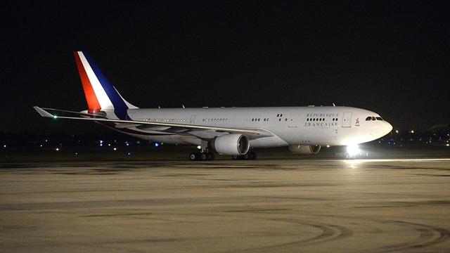 Ông Hollande là vị Tổng thống thứ ba của Pháp sang thăm Việt Nam kể từ năm 1993