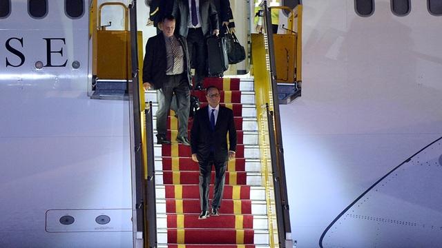 Chương trình làm việc chính thức của ông Hollande tại Việt Nam sẽ diễn ra trong 2 ngày 6-7/9