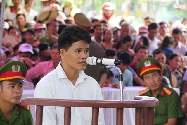Võ Thành Tân tại phiên tòa