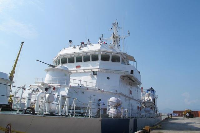 Tàu lực lượng bảo vệ bờ biển Ấn Độ thăm Đà Nẵng - 5