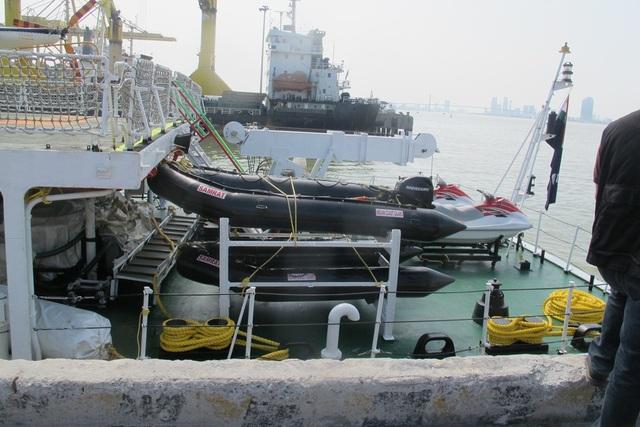 Tàu lực lượng bảo vệ bờ biển Ấn Độ thăm Đà Nẵng - 6