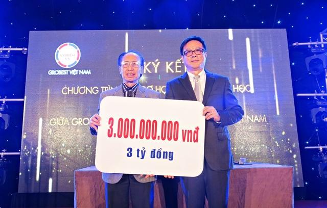 Thỏa thuận ký kết được thực hiện hàng năm với số tiền tài trợ tùy thuộc vào kết quả hoạt động kinh doanh, sản xuất của Grobest Việt Nam nhưng mức tài trợ học bổng mỗi năm tối thiểu không dưới 3 tỷ đồng.