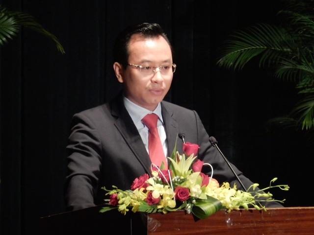 Bí thư Nguyễn Xuân Anh phát biểu tại buổi gặp mặt cán bộ quân đội cấp tá nghỉ hưu nhân kỷ niệm 72 năm ngày thành lập Quân đội nhân dân Việt Nam (22/12/1944-22/12/2016).