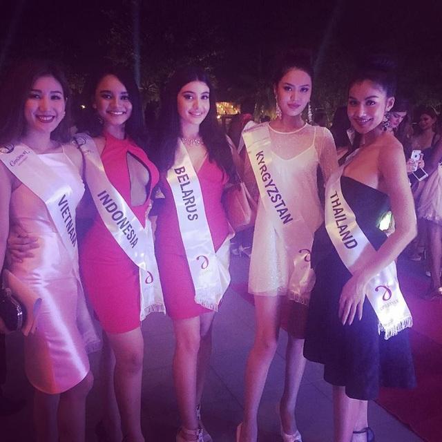 Những hình ảnh đầu tiên của Bảo Như tại Sri Lanka trong khuôn khổ cuộc thi Hoa hậu Liên lục địa (Miss Intercontinental 2016) cho thấy người đẹp rất vui vẻ và hào hứng khi tham gia các hoạt động của cuộc thi...