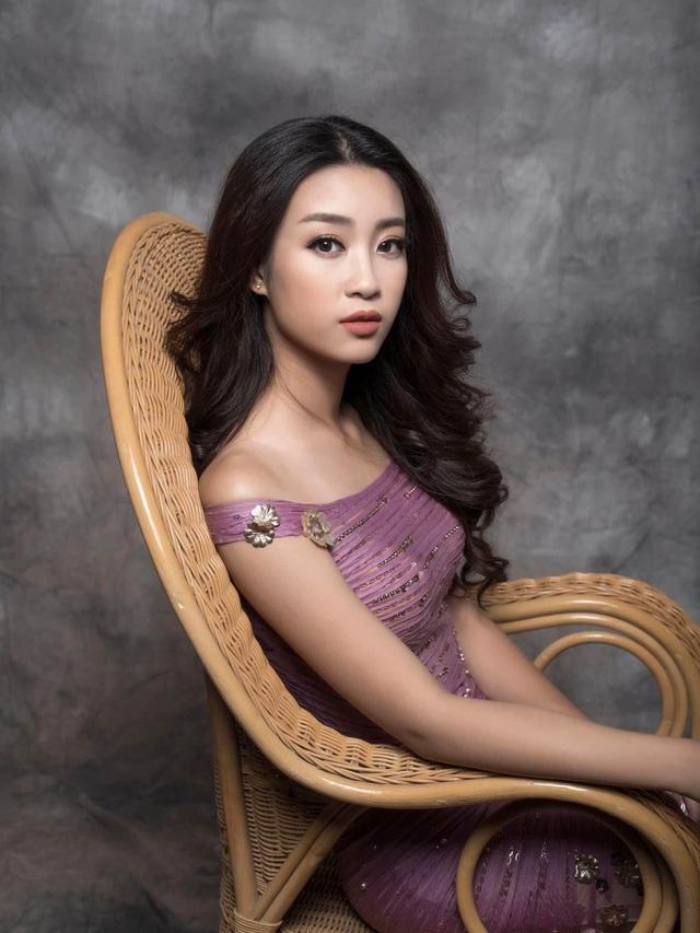 Hoa hậu Đỗ Mỹ Linh cuốn hút với hình ảnh yêu kiều - 1