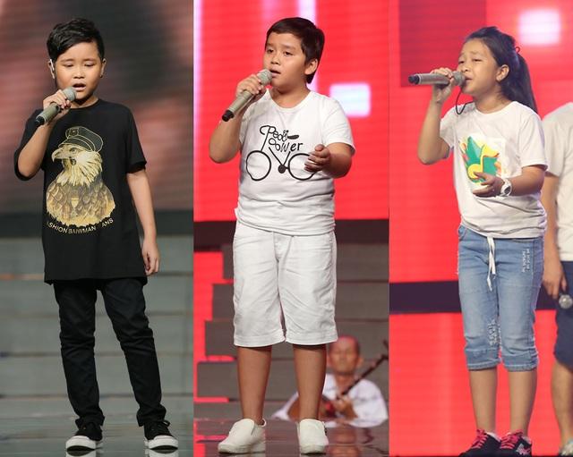 Top 3 Giọng hát Việt nhí 2016 đã chính thức lộ diện.