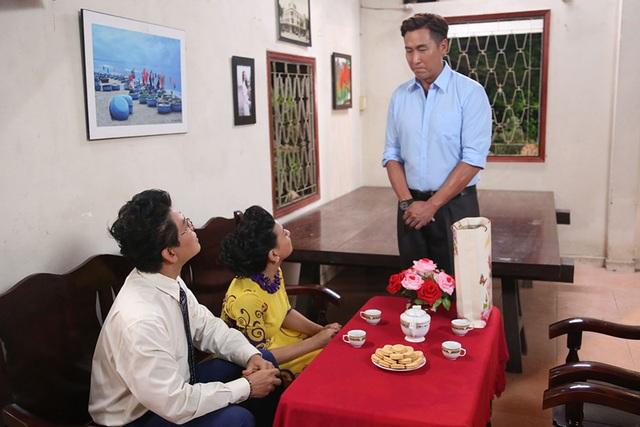 Mã Đức Chung còn thực hiện cảnh quay đến nhà Khánh My để xin hỏi cưới
