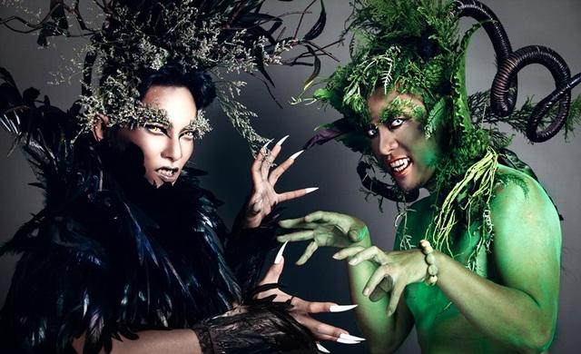 Phan Hiển và Wang Trần chia sẻ cả hai đều bận rộn với công việc riêng nên chỉ có vỏn vẹn 2 tiếng đồng hồ để thực hiện bộ ảnh này.