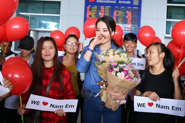 Đây có thể nói là thành công lớn nhất của Việt Nam sau nhiều lần cử thí sinh dự thi Hoa hậu Trái đất. Nam Em không chỉ là niềm tự hào của Việt Nam mà là đại diện duy nhất của châu Á vào Top 8 chung cuộc. Vì vậy, cô có rất nhiều khán giả hâm mộ quốc tế sau cuộc thi này.