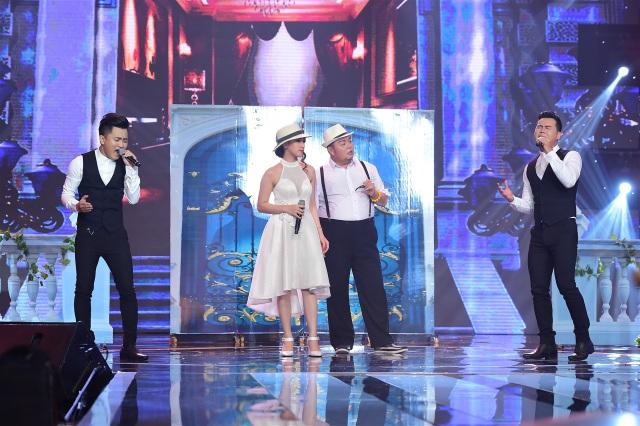 Hai thí sinh của Tuyệt đỉnh song ca phiên bản cặp đôi vàng Cao Công Nghĩa – Bình Mập cùng xuất hiện trong màn biểu diễn lần 2 của Thanh Vinh – Văn Hương trong liên khúc Lời cuối cho tình yêu - Cho vừa lòng em - Yêu người như thế đó.