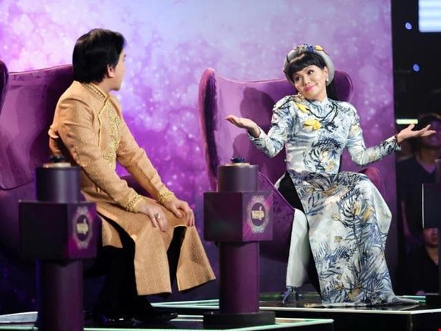Giám khảo Ngọc Huyền, sau gần 10 năm vắng bóng của tại các sân khấu cải lương trong nước, đã có dịp tái ngộ người hâm mộ.