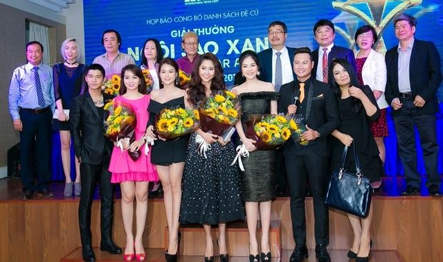 Dương Cẩm Lynh lọt vào bảng đề cử của giải thưởng Ngôi sao xanh năm nay