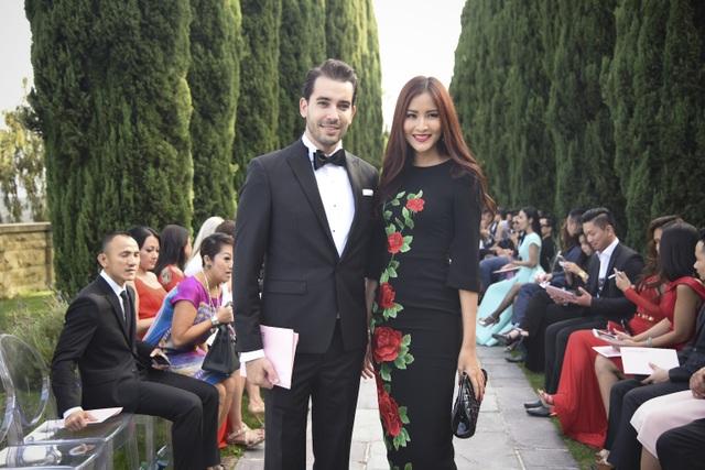 Hoa hậu Thái Lan từng bay sang Mỹ để tham dự show của bạn thân
