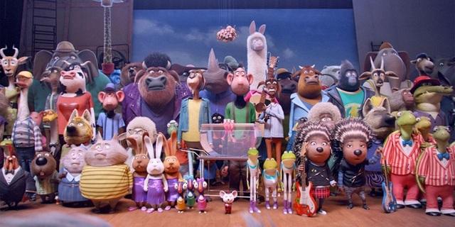 Tạo hình dễ thương của các nhân vật trong phim.