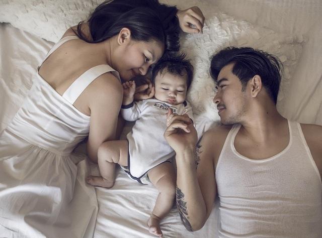 Ngọc Lan - Thanh Bình tung ảnh con trai kháu khỉnh 2 tháng tuổi - 13