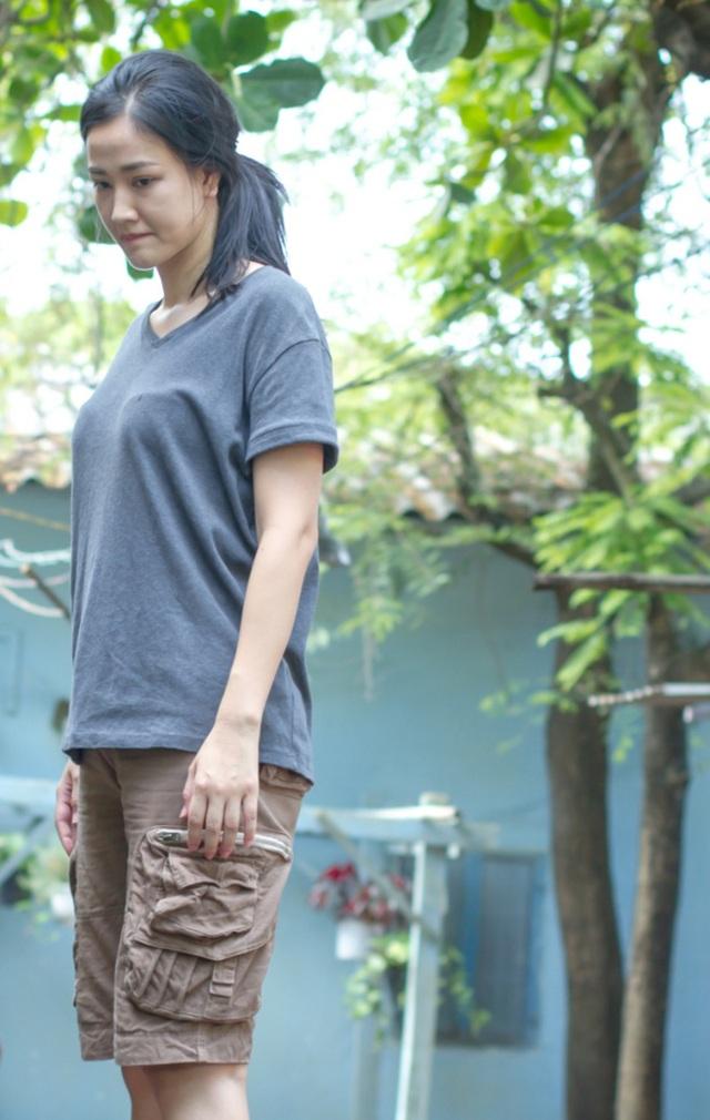 """Maya vốn được đánh giá là """"mỹ nhân"""" của làng điện ảnh Việt nhưng cô vẫn chưa """"bằng lòng"""" với ngoại hình của mình"""