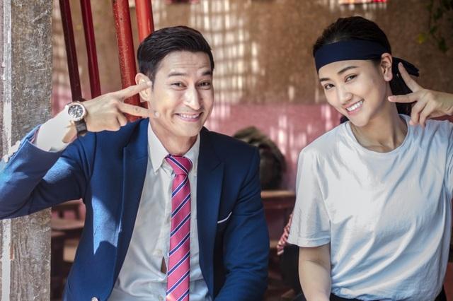 Diễn viên Huy Khánh tái ngộ Mây sau phim Cô dâu đại chiến đã cùng tham gia cách đây khá lâu.