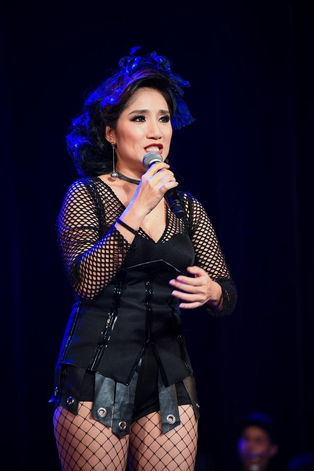 Cát Tường chia sẻ, niềm vui và hạnh phúc lớn nhất của cô là khi được đứng trên sân khấu kịch và thể hiện đam mê diễn xuất.