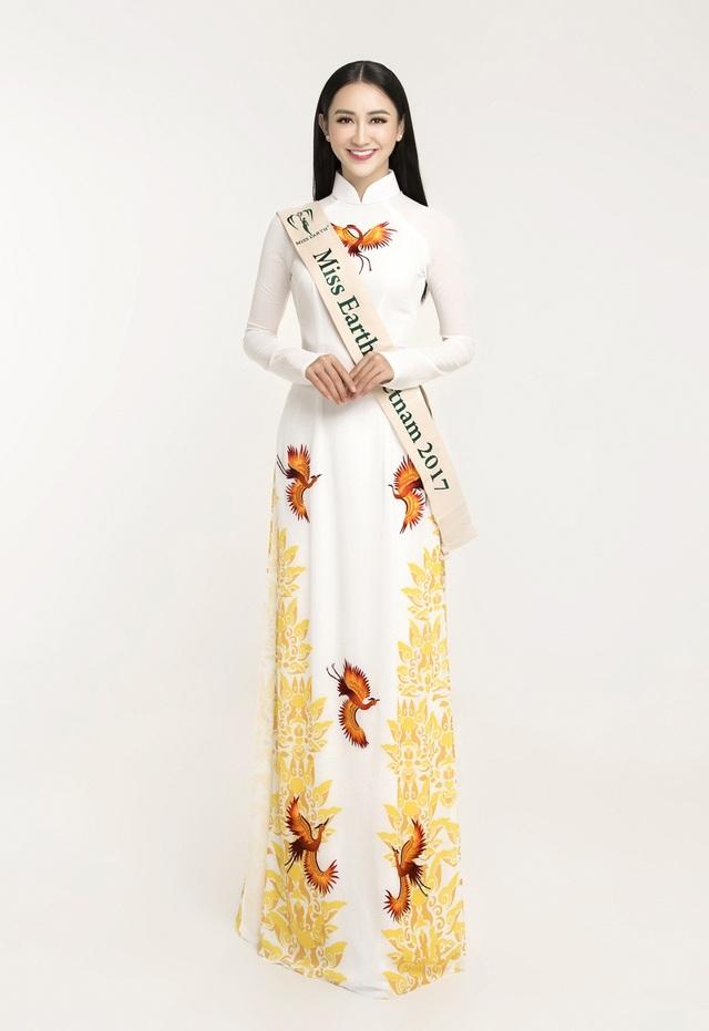 Hà Thu đại diện Việt Nam dự thi hoa hậu Trái Đất 2017 - 5