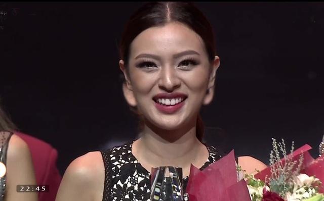 """Với số lượt bình chọn 40,75 %, Tú Hảo đến từ đội Lan Khuê đã giành ngôi vị quán quân chương trình """"Gương mặt thương hiệu"""" mùa 2. Ba thí sinh còn lại cùng nhận ngôi vị Á quân của chương trình."""