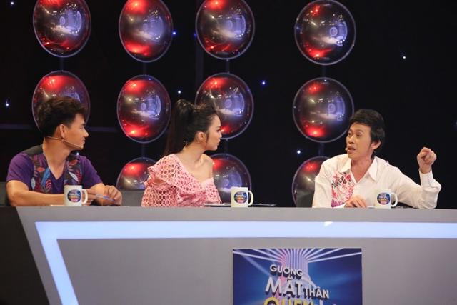 Hoài Linh ra sức diễn giải ngôn ngữ cho hai giám khảo còn lại