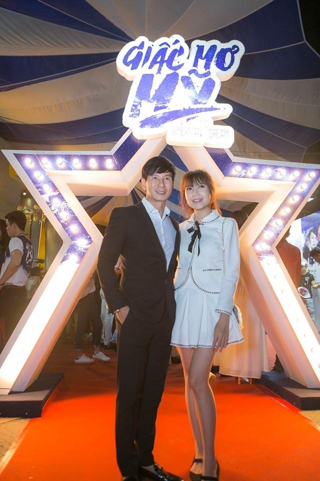 Vợ chồng Lý Hải - Minh Hà đến từ khá sớm.