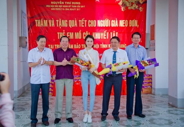 Ông Trần Quốc Tuấn, Ông Mai Văn Huỳnh, Hoa hậu Thư Dung, ông Trần Thọ Thắng, Ông Nguyễn Văn Hoàng.