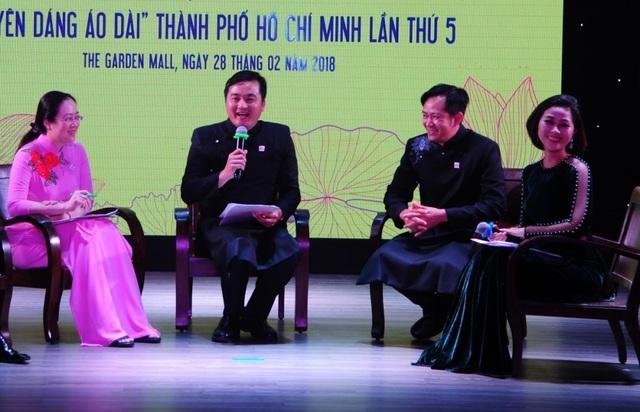 Vì sao chọn Hoa hậu Đỗ Mỹ Linh đại diện hình ảnh cho Lễ hội áo dài TPHCM? - 2