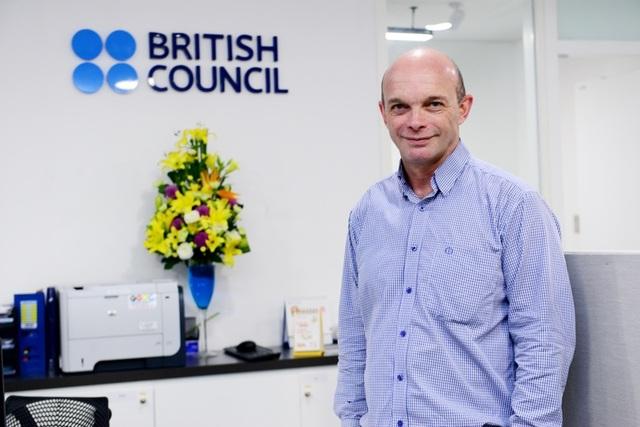 Ông Jon Glenddining, Giám đốc Giảng dạy và Học thuật tiếng Anh của Hội đồng Anh khu vực Đông Á.