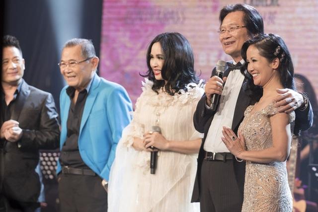 Dàn diva Thanh Lam, Hồng Nhung, Mỹ Linh tham dự liveshow cuối cùng của nhạc sĩ Dương Thụ - Ảnh 1.