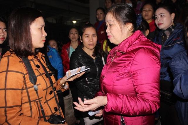 Bà Thái Thị Phi lo lắng vì không biết sau 3 tháng gia hạn thì các hộ kinh doanh sẽ như thế nào