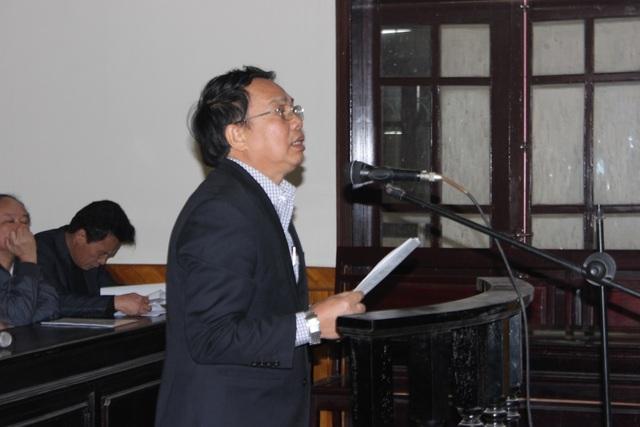 Bị cáo Nguyễn Văn Bổng - Nguyễn Văn Bổng, nguyên Chủ tịch UBND huyện Kỳ Anh, Chủ tịch HĐBT-GPMB