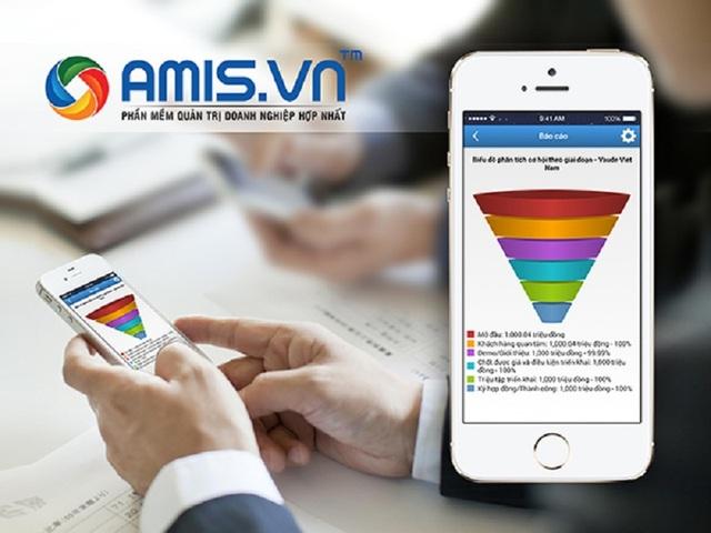 AMIS.VN - sản phẩm phát triển mạnh mẽ sau khi đoạt giải Nhân tài Đất Việt