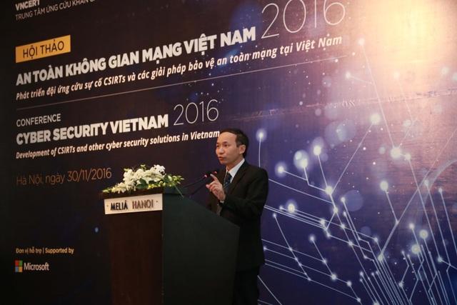 Ông Nguyễn Trọng Đường, Giám đốc VNCERT