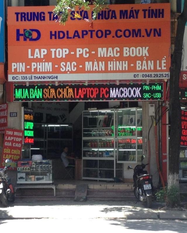 Trung tâm sửa chữa laptop Hoàng Dương
