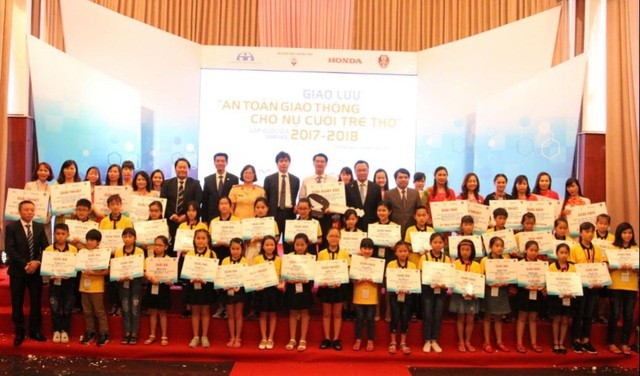 Vòng chung kết và Lễ trao giải ATGT cho nụ cười trẻ thơ đã diễn ra thành công tốt đẹp