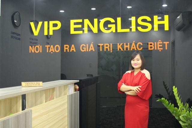 Chị Nguyễn Thúy Hằng - C.E.O VIP English.