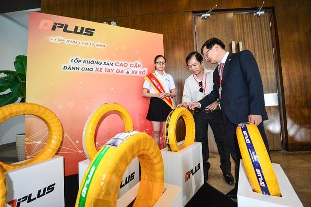 Công ty Cổ phần Cao su Đà Nẵng (DRC), đơn vị vừa mới tung ra thị trường sản phẩm lốp không săm cao cấp DPLUS – đánh dấu sự kiện quan trọng dành tặng cho hàng triệu khách hàng sử dụng xe máy tại Việt Nam.