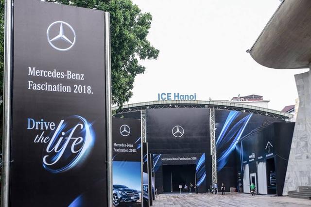 Fascination là show diễn ấn tượng thường niên từ Mercedes-Benz Việt Nam