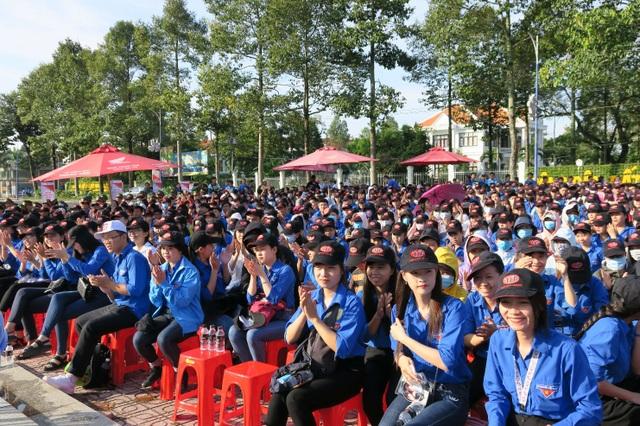 Lễ phát động thu hút đông đảo đoàn viên, thanh niên tham dự