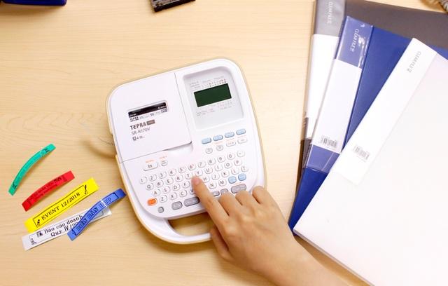 Máy in nhãn hiện đại với nhiều chức năng tiện ích