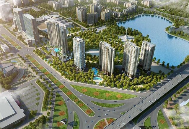 Phối cảnh dự án D'. Capitale – Trần Duy Hưng
