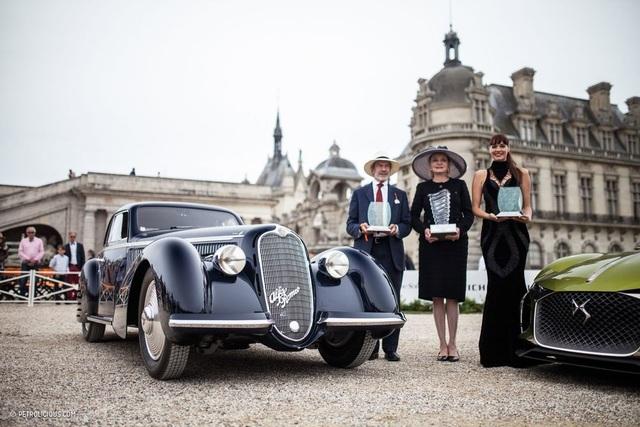 """Giải thưởng Richard Mille """"Best of Show"""" đã thuộc về chiếc Alfa Romeo 8C 2900B từ năm 1938."""