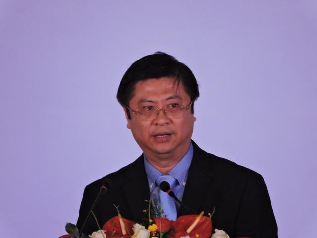 Ông Trương Quang Hoài Nam - PCT UBND TP. Cần Thơ phát biểu tại buổi lễ