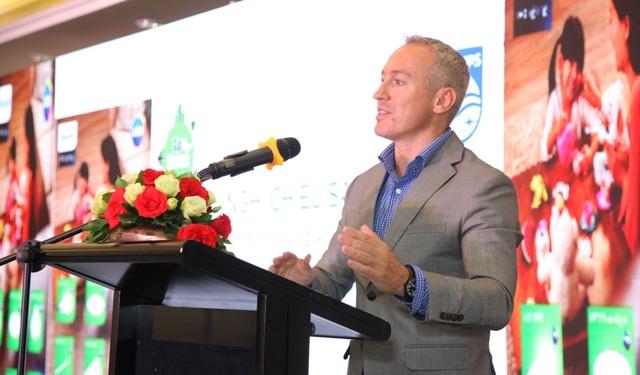 Ông Eric Benedetti, Tổng Giám đốc Philips Việt Nam - ngành Chiếu sáng