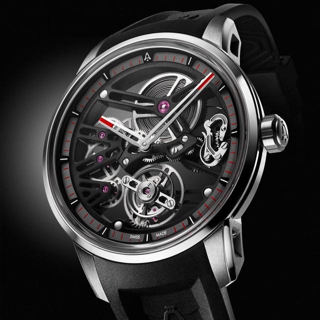 Angelus đã mất 4 năm để thiết kế, phát triển và chế tác nên chiếc đồng hồ U40 Racing Tourbillon Skeleton và bộ máy A-300 Calibre, tạo nên thế hệ đồng hồ mới cho thương hiệu danh tiếng này.