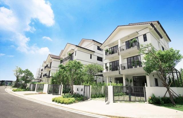 Biệt thự tại Vinhomes Thăng Long được quy hoạch đồng bộ, hiện đại