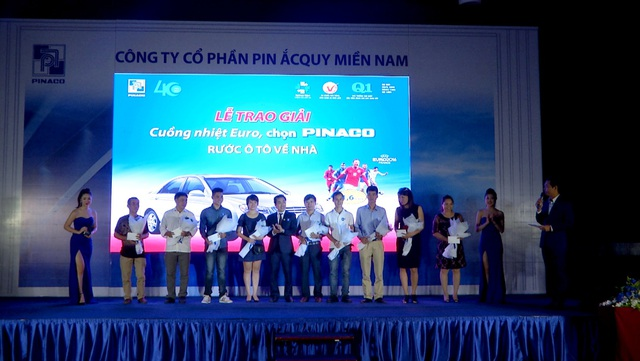 Pinaco trao giải thưởng cho khách hàng